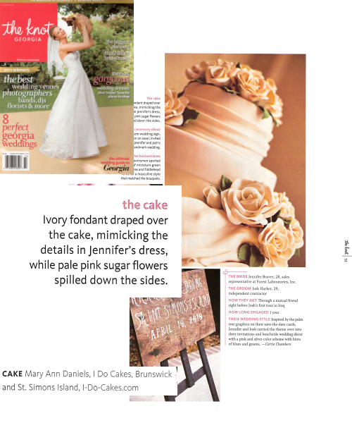 The Knot Magazine Page